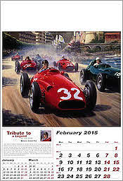 Februar Maserati Grand Prix Formel-1 Kalender 2015 von Tony Smith