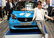 Otto Waalkes smart fortwo tn