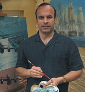 Anthony Saunders, Aviation and Naval Artist